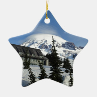 Paradise at Mt. Rainier Christmas Ornament