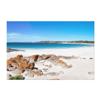 Paradise Beach in Australia Canvas Print