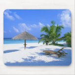 Paradise beach mouse pad