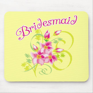 Paradise Bridesmaid T-shirts and Gifts Mouse Pads