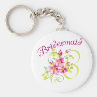 Paradise Bridesmaids Favors Key Chains