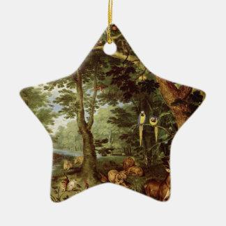 Paradise Christmas Ornament