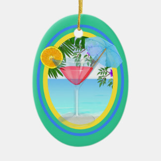 Paradise Cocktail Christmas Ornament