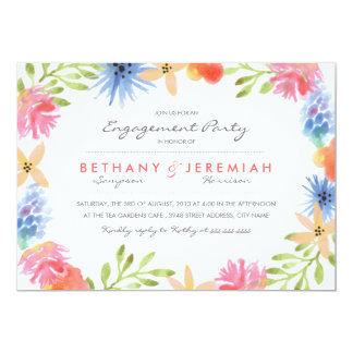 Paradise Engagement Party Invitation