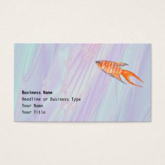 Paradise Fish. Business Card
