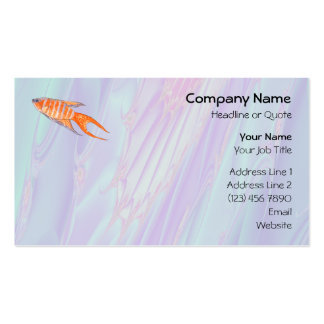 Paradise Fish. Pack Of Standard Business Cards
