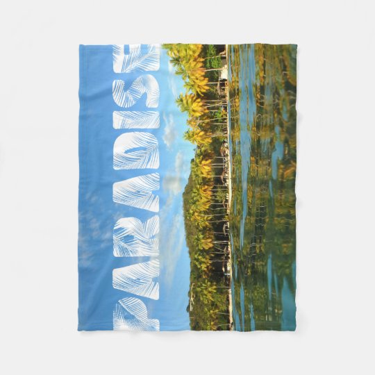 Paradise Fleece Blanket