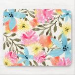 Paradise Floral Print Mousepads