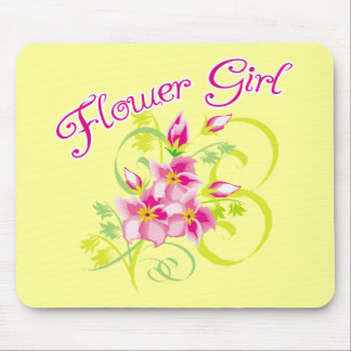 Paradise Flowergirl  Favors Mouse Pad