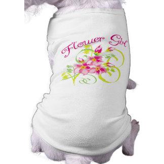 Paradise Flowergirl T-shirts and Gifts Sleeveless Dog Shirt