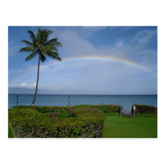 Paradise is Over the Rainbow Post Card
