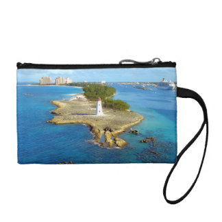 Paradise Island 200 Year Old Lighthouse Coin Wallet
