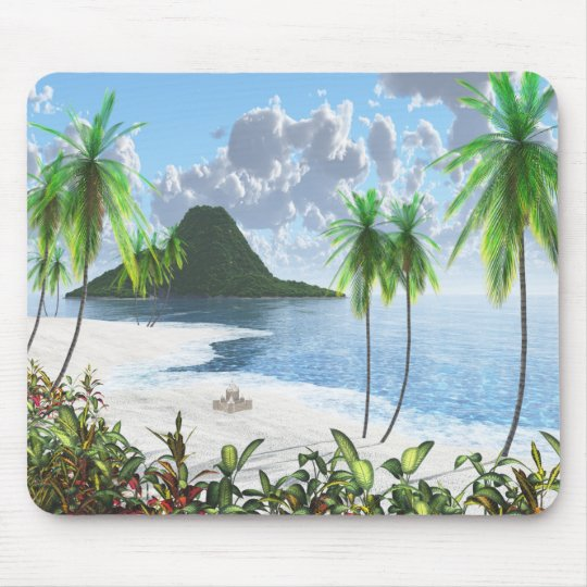 Paradise Island (2014) Mouse Mat