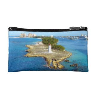 Paradise Island Bahamas Light Cosmetics Bags