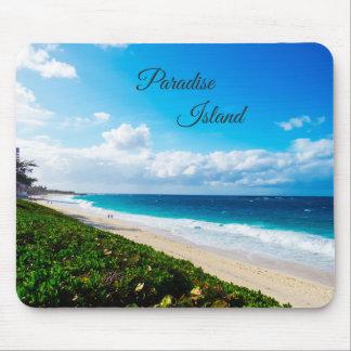Paradise Island Beach Mouse Mat
