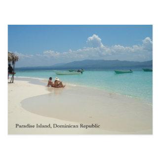 Paradise Island Dominican Republic Postcard