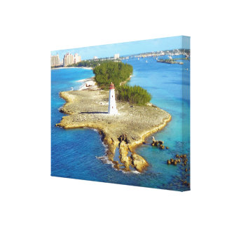 Paradise Island Light Stretched Canvas Prints