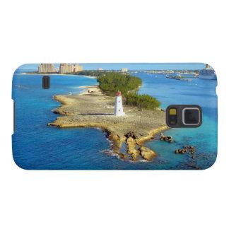 Paradise Island Light Galaxy S5 Cases