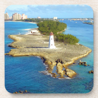 Paradise Island Light Drink Coaster