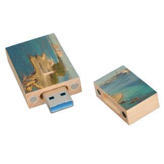 Paradise Island Light Wood USB 3.0 Flash Drive