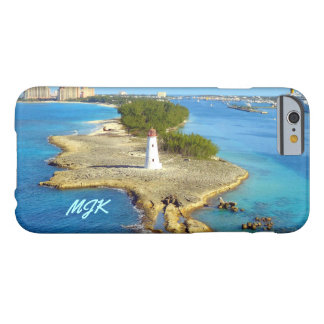 Paradise Island Light Monogrammed Barely There iPhone 6 Case