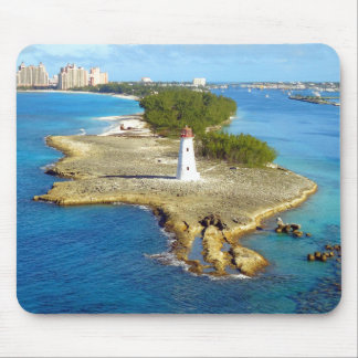 Paradise Island Light Mouse Mat