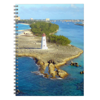Paradise Island Light Spiral Note Books