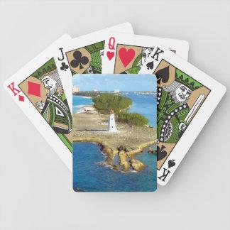 Paradise Island Light Bicycle Poker Cards