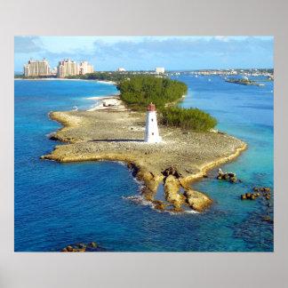 Paradise Island Light Poster
