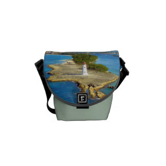 Paradise Island Light Small Green Commuter Bags