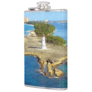 Paradise Island Light Hip Flask