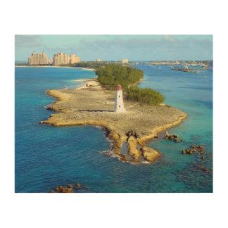 Paradise Island Light Wood Canvases