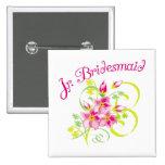 Paradise Jr. Bridesmaid Favours Pin