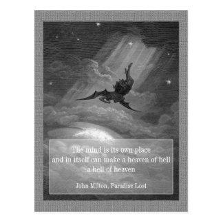 Paradise Lost CC0148 Postcard