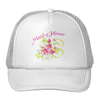 Paradise Maid of Honor Favors Trucker Hat