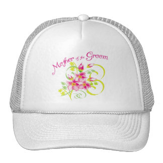 Paradise Mother of the Groom Gifts Mesh Hats