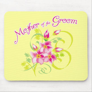 Paradise Mother of the Groom Gifts Mouse Pad