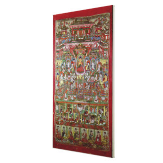 Paradise of Amitabha Canvas Print