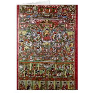 Paradise of Amitabha Greeting Card