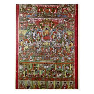 Paradise of Amitabha Post Card