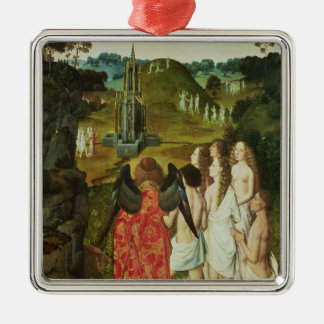 Paradise of the Symbolic Fountain Christmas Ornament
