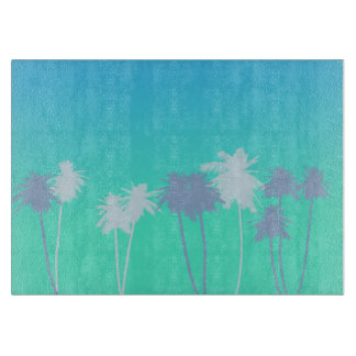 Paradise Palm Tree Cutting Board