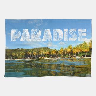 Paradise Tea Towel