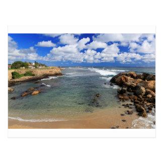 Paradise tropical coast Galle Sri Lanka Postcard