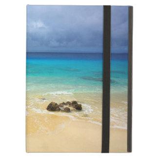 Paradise tropical island white sand beach case for iPad air