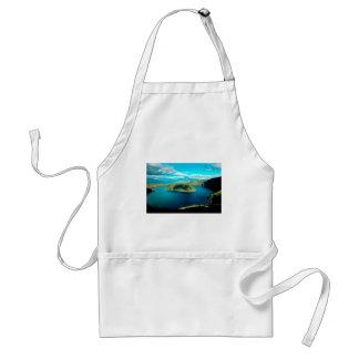 Paradise volcano crater lake standard apron