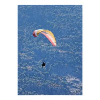 Paraglider Custom Invitations