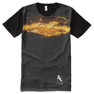 PARAGLIDER PG-23 Ponto Central All-Over Print T-Shirt