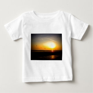 Paragliders enjoying the Sunset Baby T-Shirt