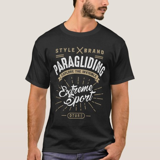 Paragliding Extreme Sport T-shirt
